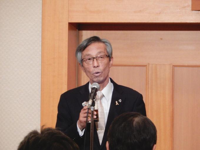 12月1日(その2) 「東海4県薬剤師会会長懇談会・励ます会」(静岡市)