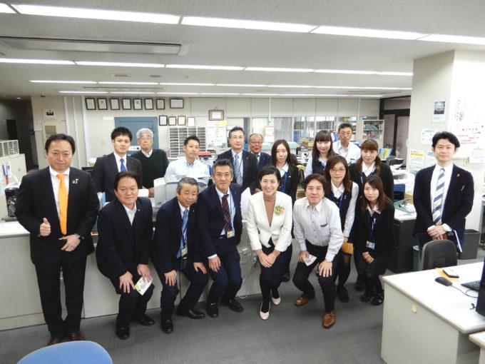 3月1日 熊本県キャラバン5日目最終日(熊本市中央区)
